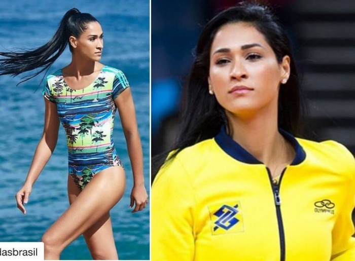Jaqueline Carvalho is one of the hottest female and male athletes in Rio Olympics 2016.