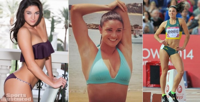 Michelle Jenneke from Australia is one of the hottest female and male athletes in Rio Olympics 2016.