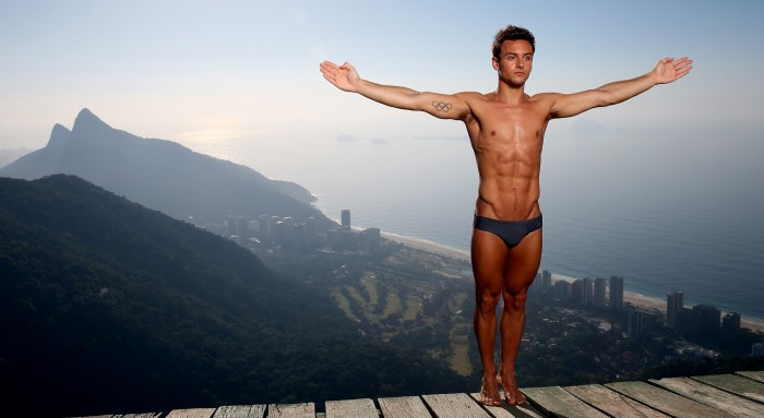 Tom Daley from United Kingdom is one of the hottest male athletes in Rio Olympics 2016.