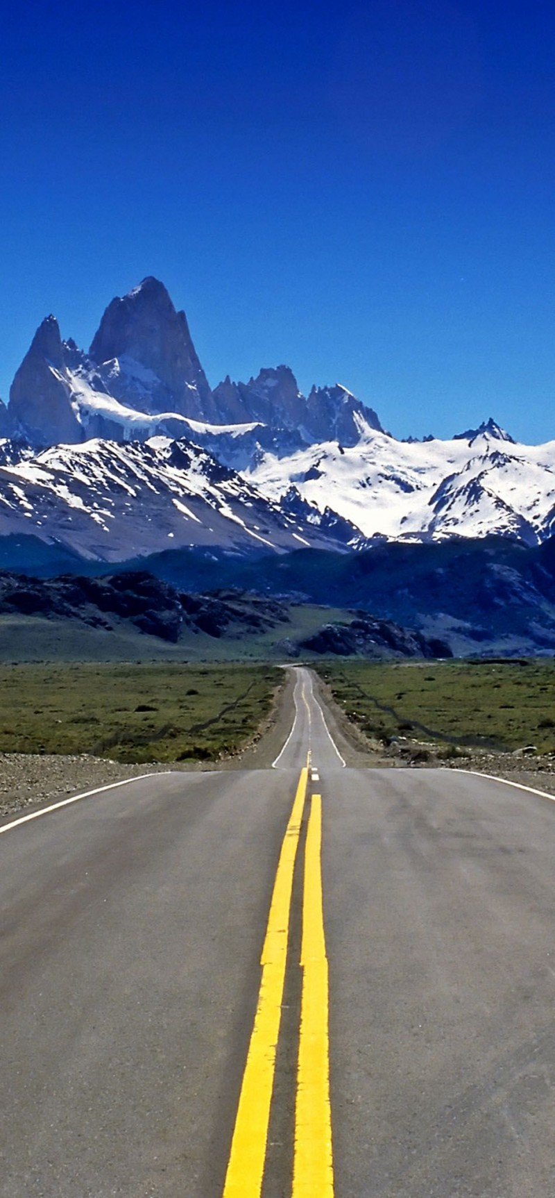 Road to Mount Fitz Roy in Patagonia is one of the roads you need to drive in your lifetime.