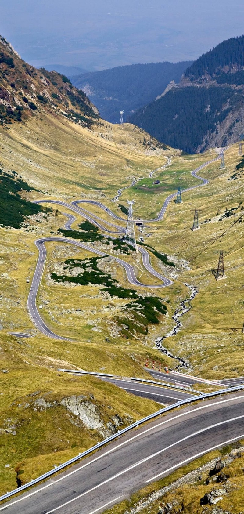 Transfagarasan Highway in Romania is one of the roads you need to drive in your lifetime.