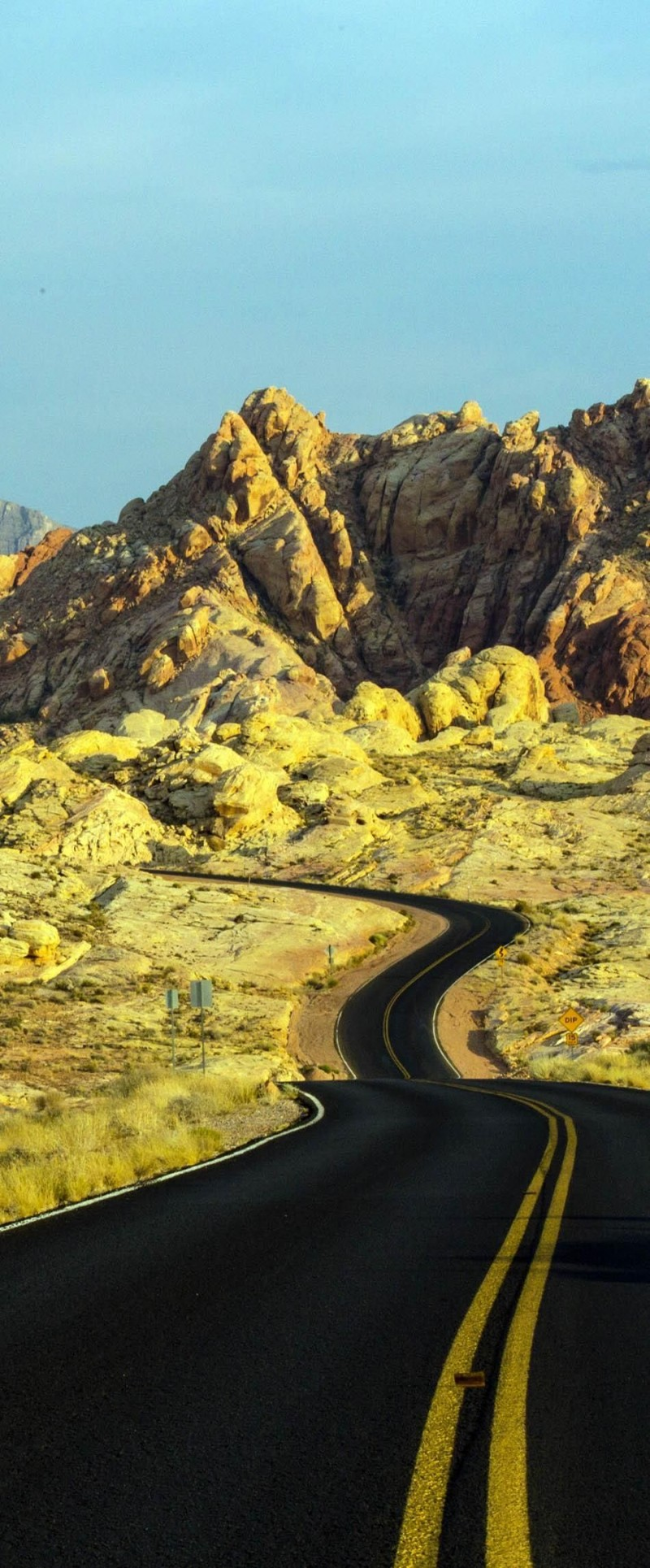 Scenic Valley of Fire in Nevada is one of the roads you need to drive in your lifetime.