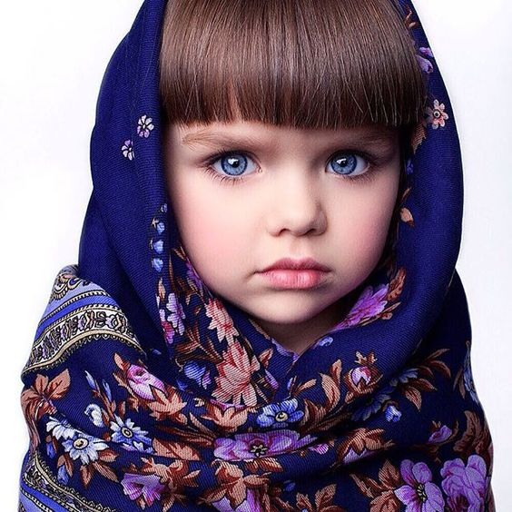 Meet beautiful Anastasiya Knyazeva. She is a 5 year old girl from Russia.