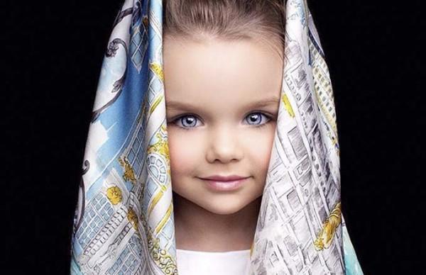 Beautiful Anastasiya Knyazeva is the most beautiful girl in the world.