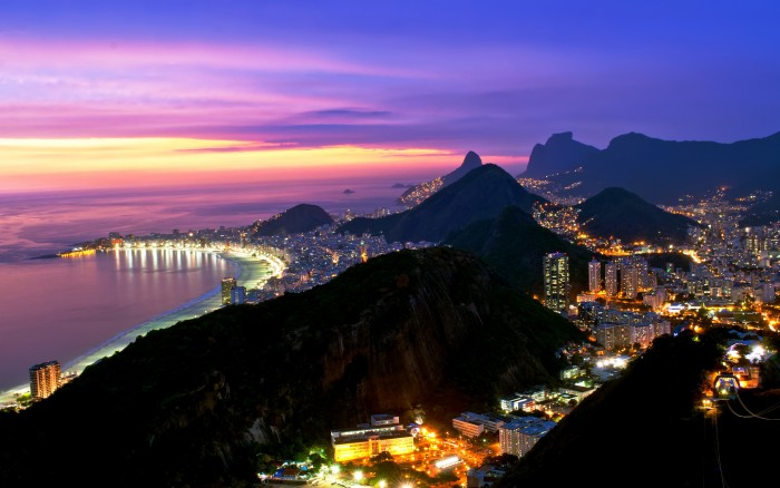 One of the 10 best views in the world is from Corcovado mountain in Brazil.