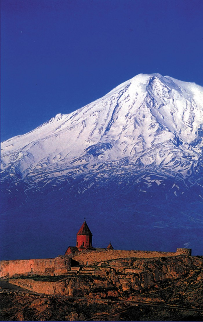 View of the Mount Ararat in Turkey is one of the 10 best views in the world.