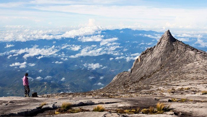 Mountain Kinabalu in Malaysia has one of the 10 best views in the world.