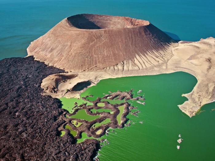 Nabiyotum Crater in Kenya has one of the 10 best views in the world.