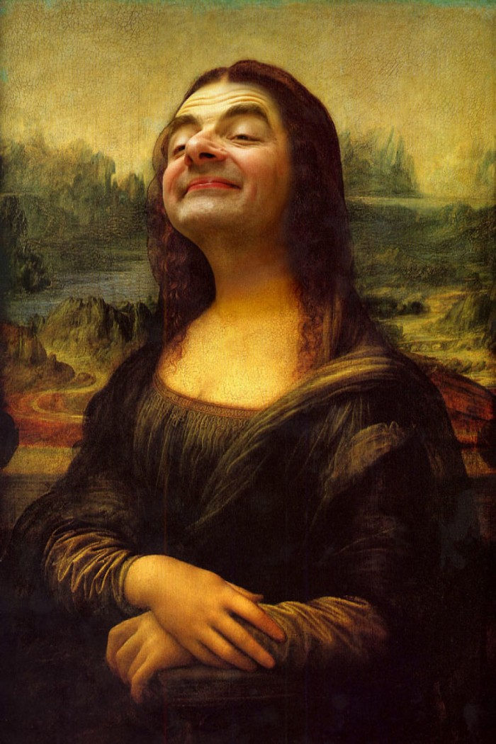 These hilarious photoshopped pictures of Mr. Bean will make your day. Here is Mr. Bean as the Mona Lisa.