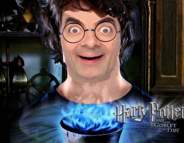 These hilarious photoshopped pictures of Mr. Bean will make your day. Here is Mr. Bean as Harry Potter.
