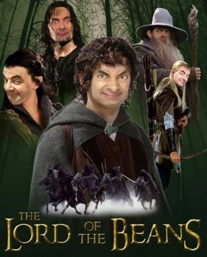 These hilarious photoshopped pictures of Mr. Bean will make your day. Here is Mr. Bean starring in the Lord of the Rings movie.