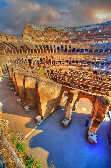 Colosseum in Rome is one of the biggest tourist attractions in Italy.