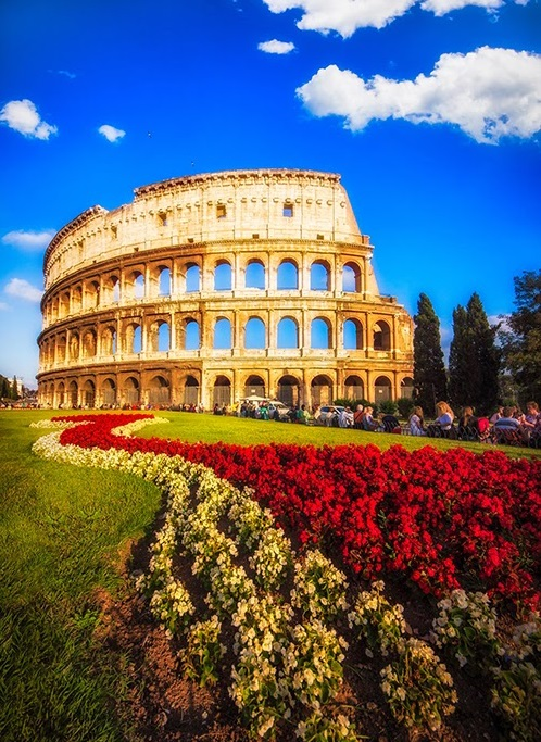 Every year close to 6 million tourists from around the globe visit the Colosseum in Rome.