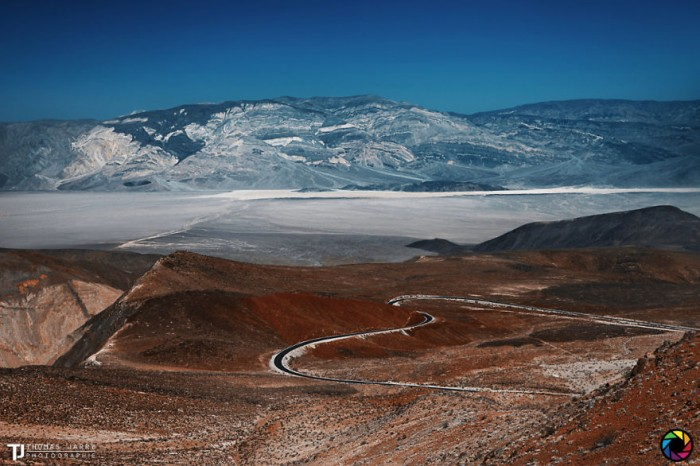 American landscape seen through the eyes of Thomas Jarry. This is Death Valley National Park in California.