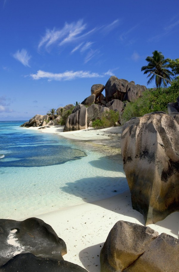 Anse Source d'Argent in the Seychelles is one of the best beaches to visit this summer.