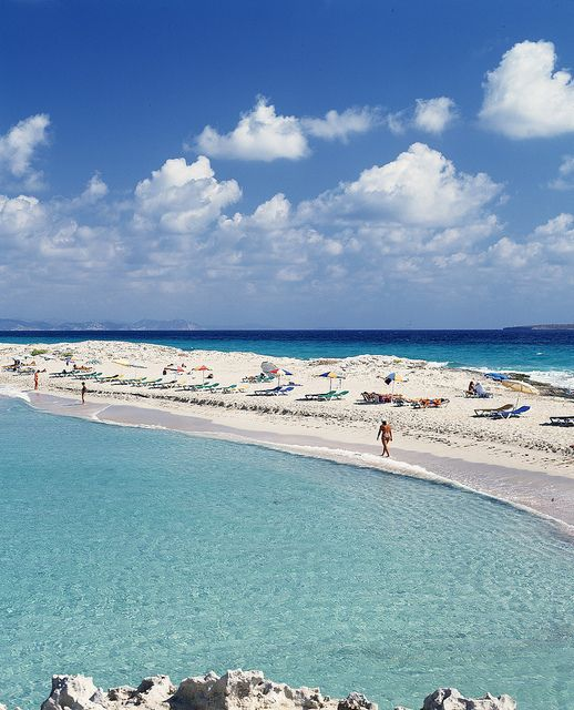 Playa de ses Illetes in Formentera in Spain is one of the best beaches to visit this summer.