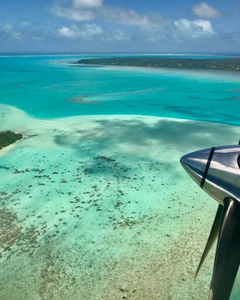 Aitutaki is the second most visited island. This is where you'll find the world's most beautiful lagoon.