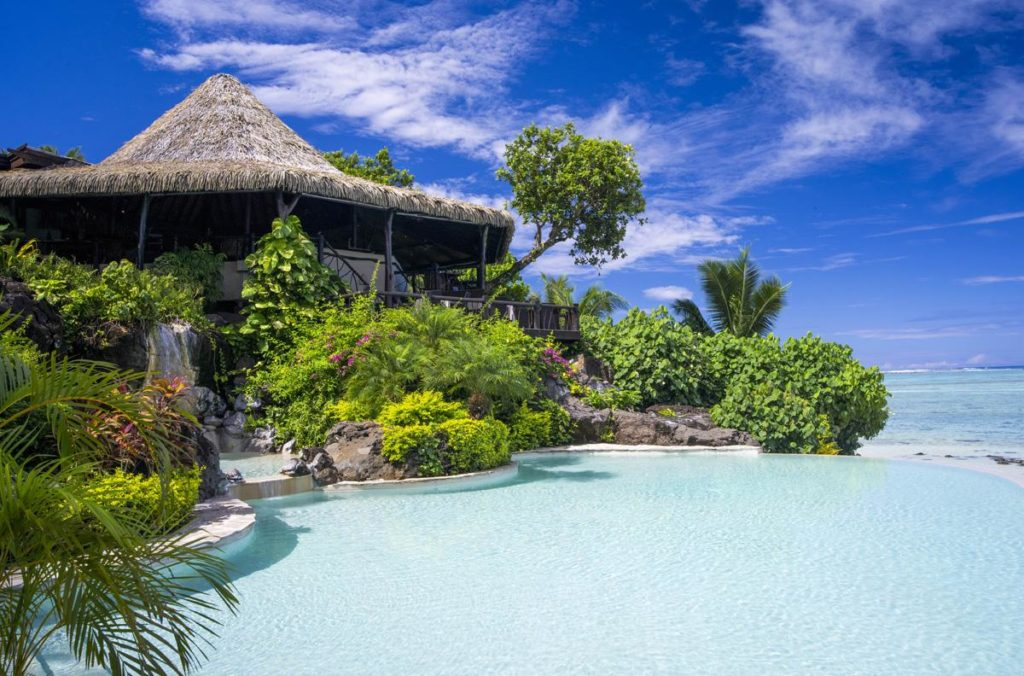 Gorgeous Cook islands are a perfect place for honeymooners