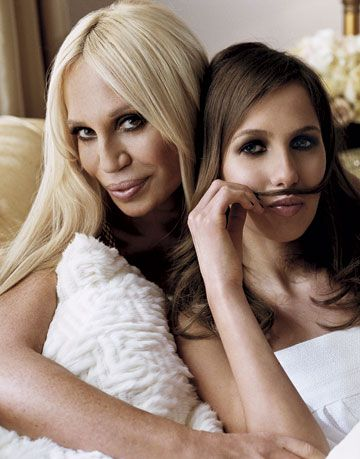 Donatella Versace and her daughter Allegra Versace Beck are always eager to help anyone in need.