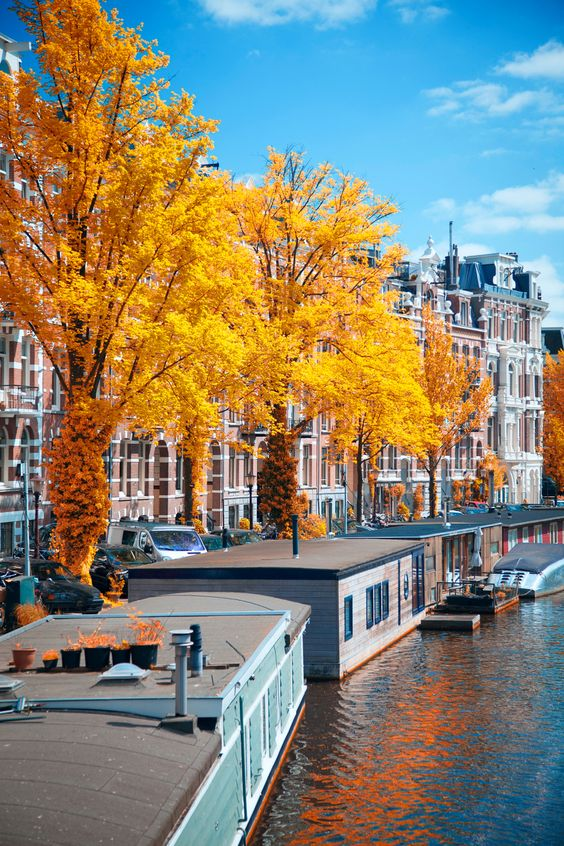 One of the most beautiful cities in Europe and all of Scandinavia is Amsterdam.