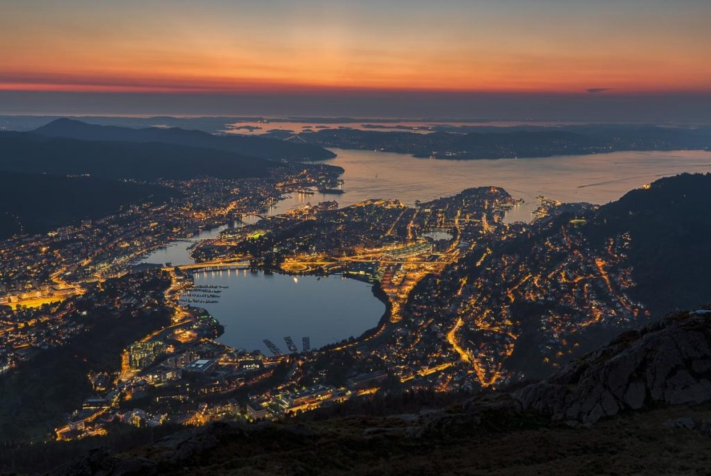 Bergen in Norway is one of the most beautiful cities in Europe.