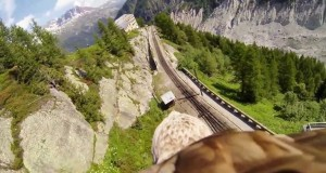 Incredible footage of a flying eagle.