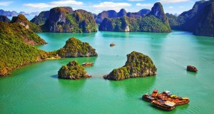 Ha Long Bay is one of the most beautiful places to visit in Vietnam.