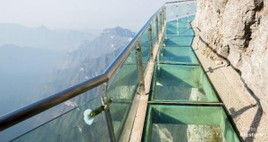Tianmen mountain in China is one of the most spectacular cliff walks in the world.