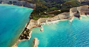 Corfu island in Greece is one of the best beach honeymoon destinations in the world.