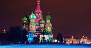 One of 15 unforgettable bucket list trips is Saint Basil's Cathedral in Russia.