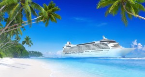 One of the 10 best travel jobs in the world is to work on a cruise ship.